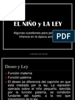 EL NIÑO y LA LEY