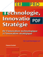 Technologie, innovation, stratégie