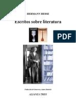 Hesse, Hermann - Escritos Sobre Literatura (1)