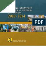 Rencana Strategis Direktorat Jenderal Cipta Karya Kementerian Pekerjaan Umum  Tahun 2010-2014