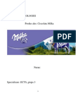 Analiza Merceologica a Ciocolatei Milka
