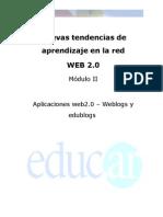 Aplicaciones Web 2.0 – Weblogs y Edublogs
