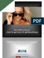 12. AKO SPAT SVOJU EX - How to get your Ex back - Ako zbalit babu - e KNIHA © 2012 SEDUCTION.SK