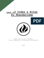 Les 22 Rites Du Shandarisme