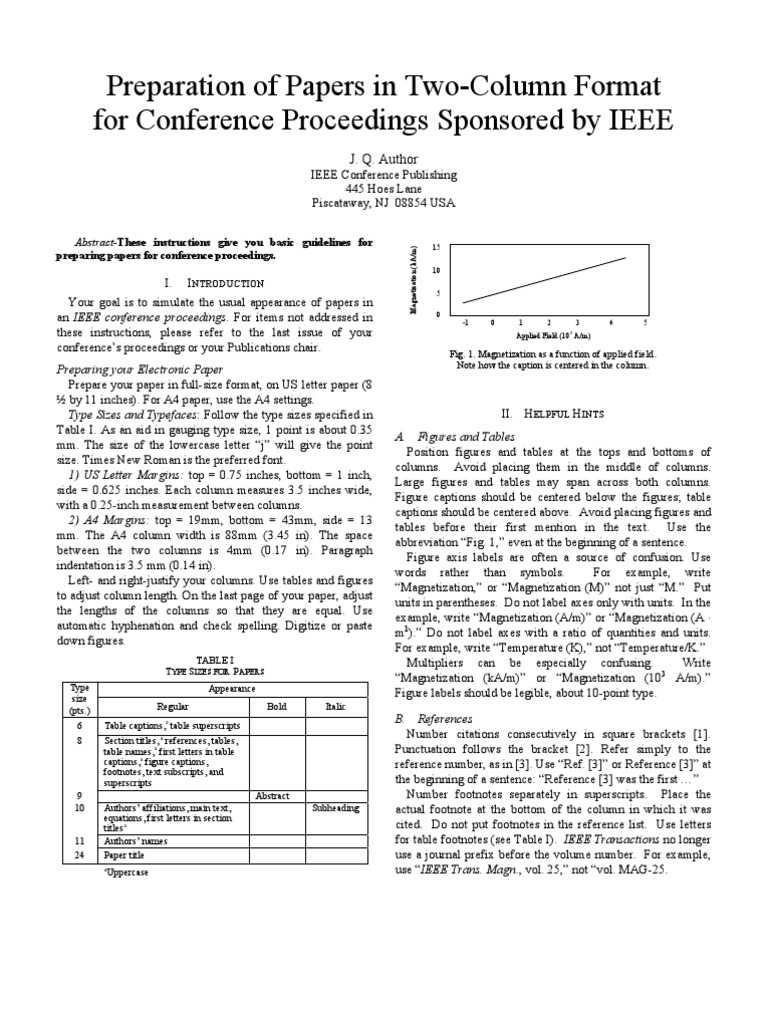 Sample Ieee Papers