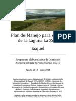 Propuesta de Plan Manejo Para La Zeta