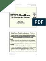 Seafloor Scott Research