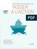 Rapport du Forum national sur l'eau de la TRN