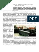 OPTIMIZACIÓN AUTOMÁTICA DEL PROCESO DE TISAJE