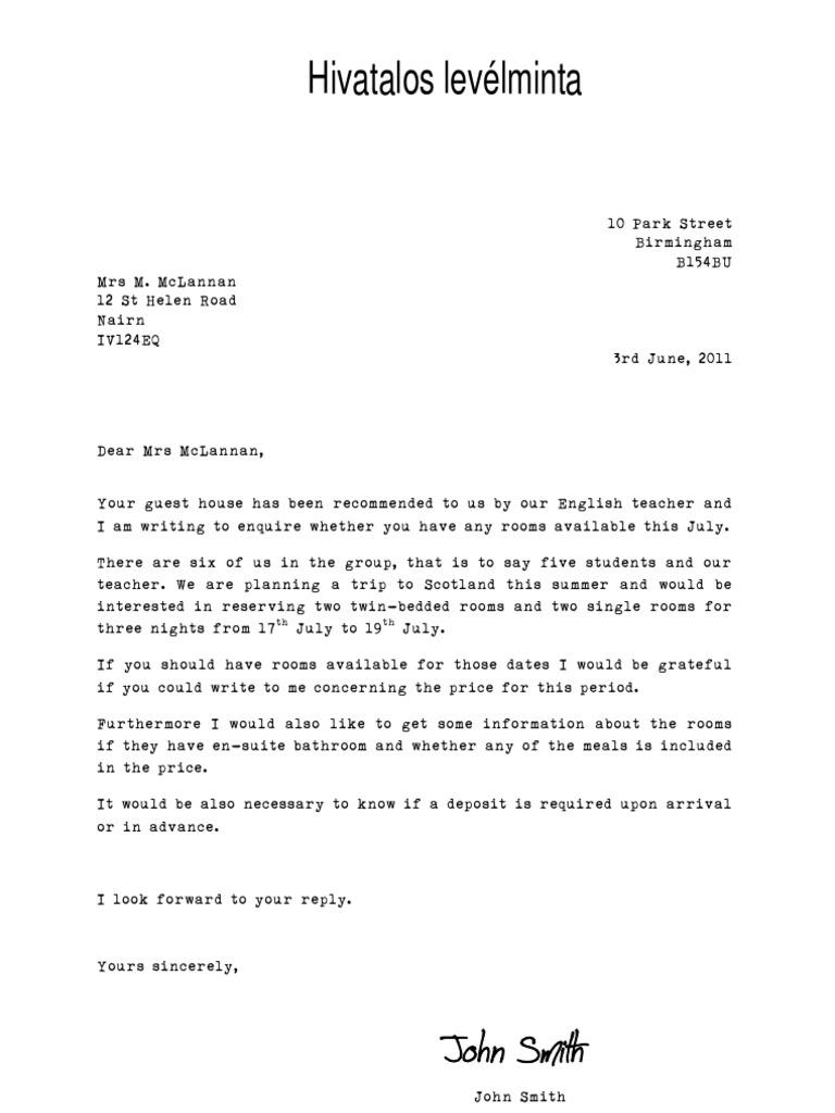 44 Angol levél minta ideas   angol, levél, levélírás