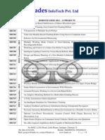 Robotics IEEE 2012 Project List from Hades InfoTech