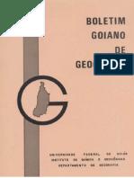 Boletim Goiano de Geografia