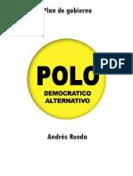 Plan de Gobierno Andrés Rueda