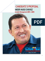 Programa Patria 2013 in English [Chavez's plan for Bolivarian socialist management 2013-2019]