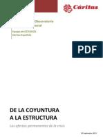 Vii Informe del Observatorio de la Realidad Social de Cáritas