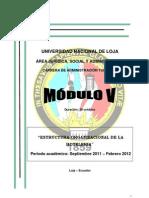 Modulo 5 Estructura Organizacional de La Hoteleria