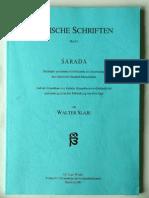 Indische Schriften Band 1 Sharada - Walter Slaje