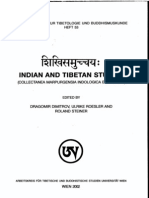 Shikhi Samucchaya Indian and Tibetan Studies - Edited by Dragomir Dimitrov, Ulrie Roesler and Rolando Steiner