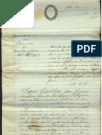 Carta de sentença cível... Comarca de Idanha-a-Nova... 1889