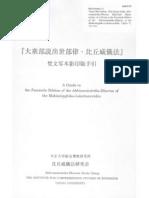The Script of the Abhisamacharika Dharma Palm Leaf Manuscript - Matsunami