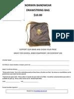 Drawstring Bag Order Form