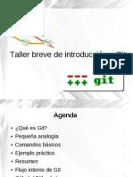 Taller Breve Introduccion Git