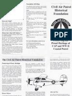 CAP Historical Foundation Brochure