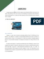 Arduino Seminar Report