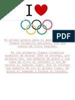 Medallas Olimpicas