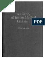 A History of Indian Medical Literature Vol IIB - G Jan Meulenbeld