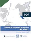 Estándares de Transparencia en compras de APEC en México