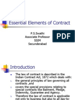 Essential Elements of Contract (1)