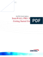 SonicWALL PRO 3060 Getting Started Guide
