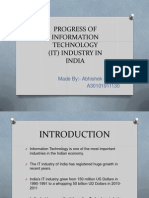 Information Technology(It) Industry