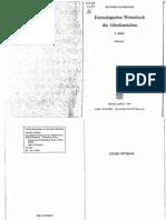 Etym-Worterbuch Des Altindoarischen - Manfred Mayrhofer