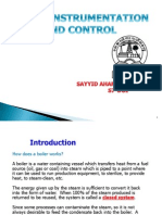 boiler instrumentation and control