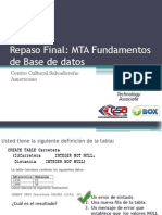 Repaso Final BASE de DATOS Clase