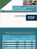 Sistema Bancario y Financiero 2012 Jaime Delgado Congresista _ ASPEC