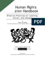 Human Rights Education Handbook