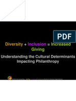 week 7 diversity  inclusion  increased giving