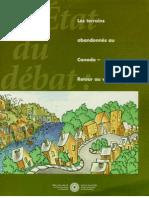 Les terrains abandonnés au Canada - Retour au vert