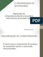APRESENTAÇÃO DE ORGANIZAÇÃO DE COMPUTADORES