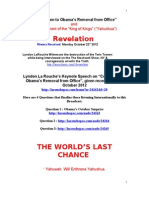 Revelation La Rouch Keynote Speech 22.10