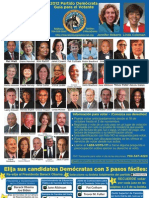 2012 Mecklenburg County Democratic Party Voter Guide - Spanish Language