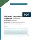 1.3 Civil Society Procurement Monitoring