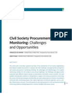 1.3 Civil Society Procurement Monitoring