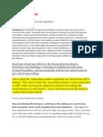 2011 Wall Street Fraud