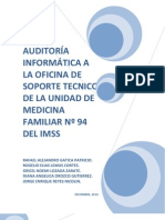 Ejemplo Auditoria Informatica