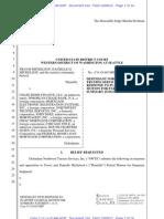 Mickelson, Docket No.109, Nwts Response Partial Mfsj