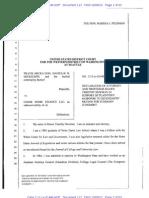 MICKELSON, Docket No.113, Decl. Newman, Response MFSJ